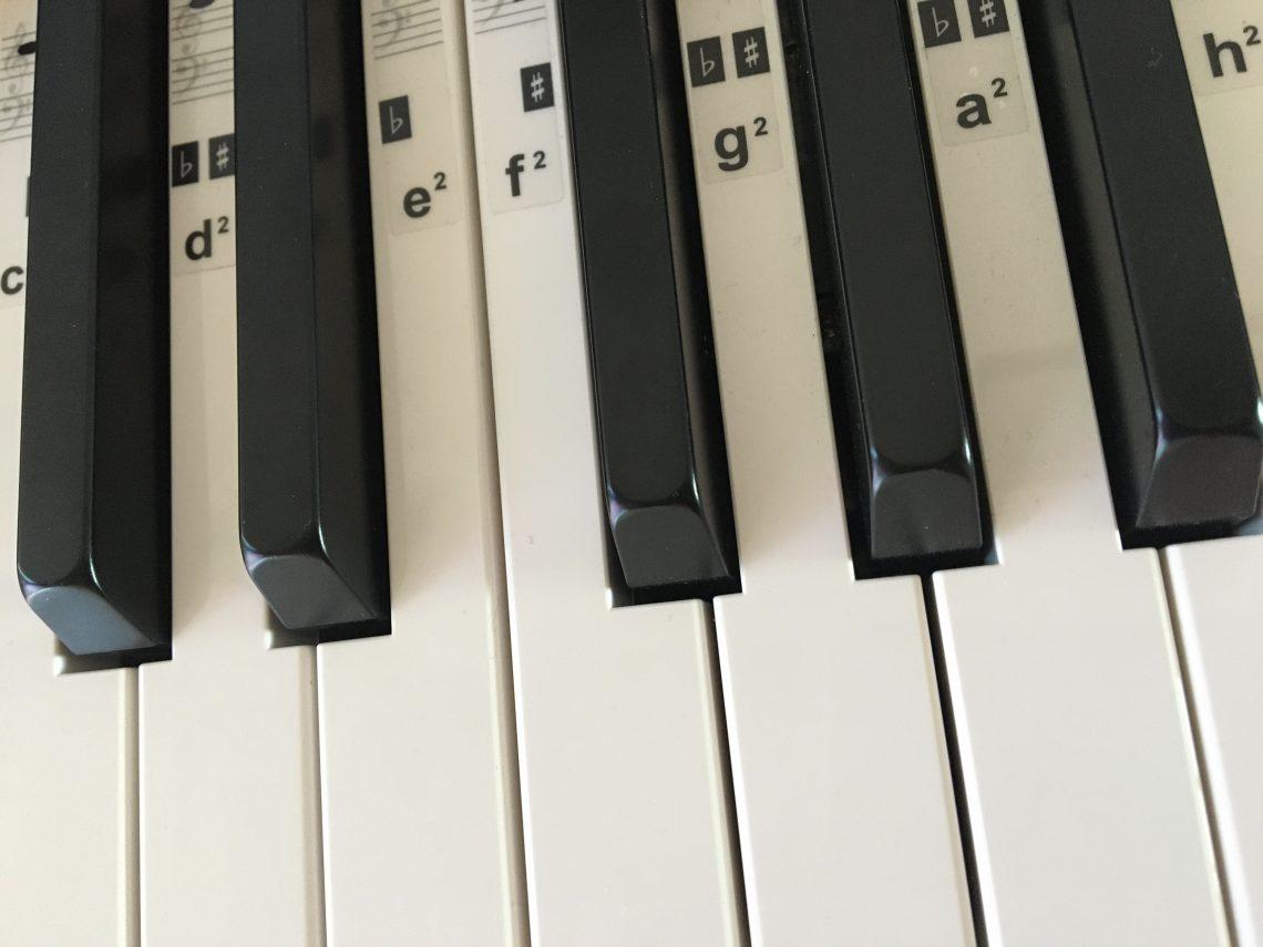 Klaviertastatur, Foto: Bernd Meidel